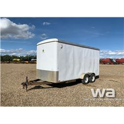 2013 CARRY-ON T/A ENCLOSED TRAILER