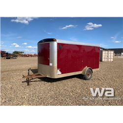 2012 MIRAGE S/A ENCLOSED TRAILER