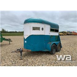 1975 ROAD RUNNER T/A HORSE TRAILER