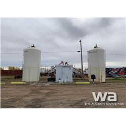 (2) WHEATLAND HOPPER BINS