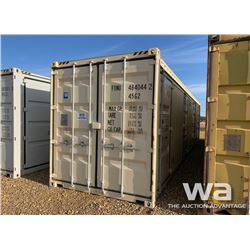 2016 HIGH CUBE 8 X 40 FT. SHIPPING CONTAINER