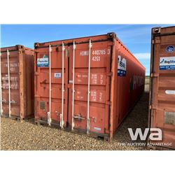 1995 8 X 40 FT. SHIPPING CONTAINER