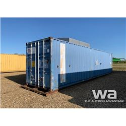 1998 BLUE 8 X 40 FT. SHIPPING CONTAINER