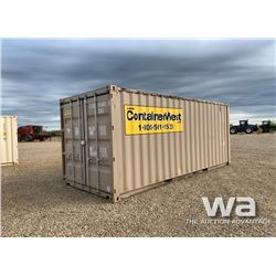 2013 8 X 20 FT. SHIPPING CONTAINER