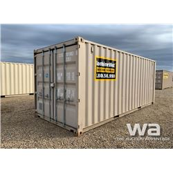 2011 8 X 20 FT. SHIPPING CONTAINER