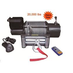 20,000 LBS HEAVY DUTY WINCH WITH WIRELESS REMOTE