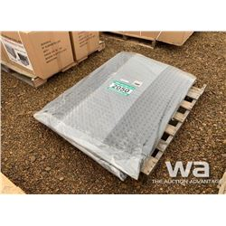 (6) ANTI FATIGUE RUBBER MATS