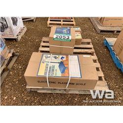 660 LB WIRELESS PLATFORM SCALE