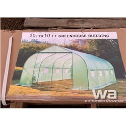 20 X 10 FT. GREEN HOUSE
