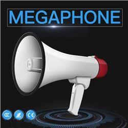 MEGAPHONE DETACH MICROPHONE & LITHIUM BATTERY
