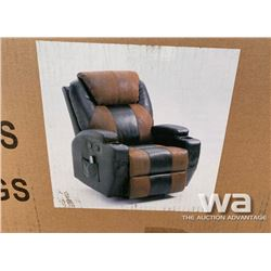 11 IN 1   MASSAGE RECLINER CHAIR AIR LEATHER