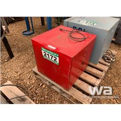 RED WELDING ROD OVEN