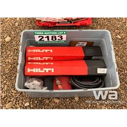 HILTI POWER CORDS & BITS