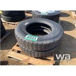 (2) FIRESTONE T814 11R24.5 TRUCK TIRES
