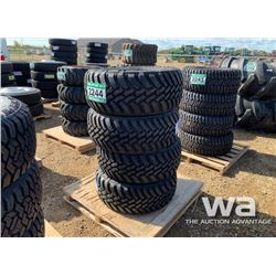(4) GRIZZLY LT305/55R20 TRUCK TIRES