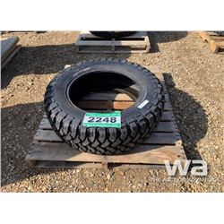 (1) GRIZZLY 35X12.5R20LT TRUCK TIRES