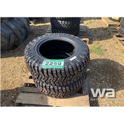 (2) GRIZZLY 33X12.5R18LT TRUCK TIRES