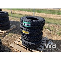 (4) TERRENA LT265/75R16 TRUCK TIRES