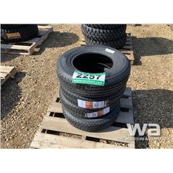 (4) RADAR ST175/80R13 TRAILER TIRES