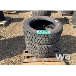 (3) AVALANCHE 275/60R20 TIRES