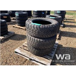 (3) TOYO OPEN COUNTRY 35X12.5R20 TIRES