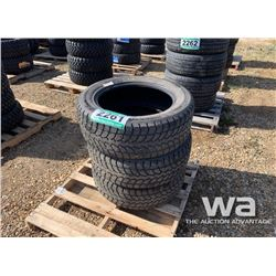 (3) WINTER CLAW 275/55R20 TIRES