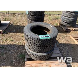 (3) BRIDGESTONE 245/70R19.5 TIRES