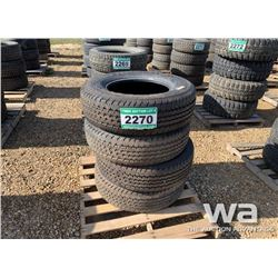 (4) CONTINENTAL LT275/70R18 TIRES