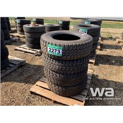 (4) MUD TERRAIN & TOYO 275/70R18 TIRES