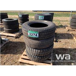 (4) WRANGLER 265/70R18 TIRES