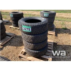 (4) WILD COUNTRY LT275/65R18 TIRES