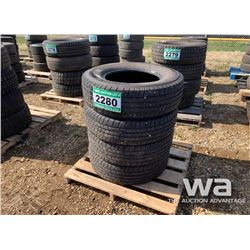 (4) MICHELIN 245/75R17 TIRES
