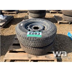 (2) GOODYEAR WRANGLER 265/70R17 TIRES