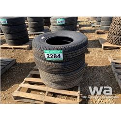 (4) GENERAL & CROSSWIND 235/85R16 TIRES