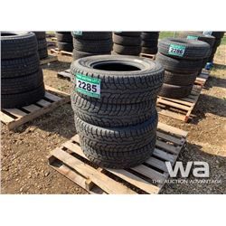 (4) HANKOOK PIKE 245/75R16 TIRES