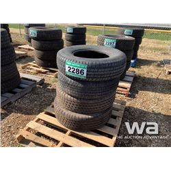 (4) MICHELIN LTX 245/70R17 TIRES