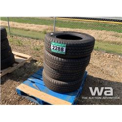 (4) SAVERO LT265/70R17 TIRES