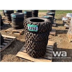 (4) MAXXIS BIG HORN ATV TIRES