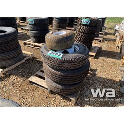 "(4) GOODYEAR & FIRESTONE 16"", 17"" & 18"" MIXED TIRE"