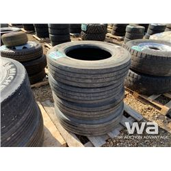 (4) GENERAL 11R24.5 TRUCK TIRES