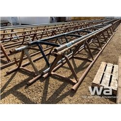 "(3) 32"" X 30 FT. PIPE RACKS"