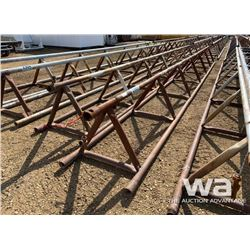 "(2) 32"" X 30 FT. PIPE RACKS"