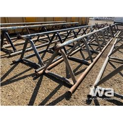 "(2) 32"" X 20 FT. PIPE RACKS"