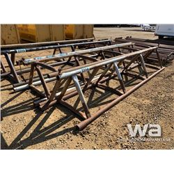 "(3) 32"" X 15 FT. PIPE RACKS"