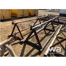 "(2) 32"" X 15 FT. PIPE RACKS"