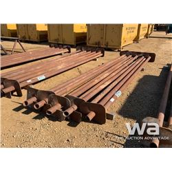 "(10) 3 1/2"" X 15 FT. SCREW PILES"