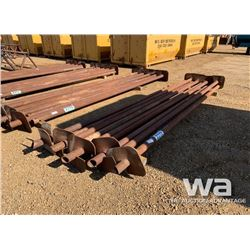 "(9) 3 1/2"" X 15 FT. SCREW PILES"