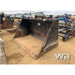 "MDS 80-400 96"" LOADER BUCKET"