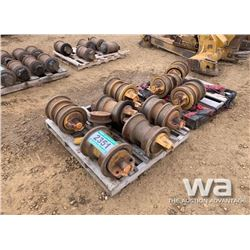 (10) CAT D8 TRACK ROLLERS