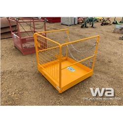 SAFETY CAGE WORK PLATFORM BASKET
